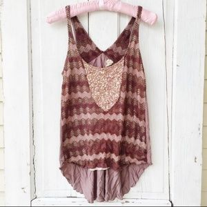 Anthropologie Tiny tank top